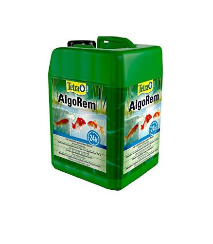 Tetra Pond AlgoRem 3 L, Agisce Rapidamente e in Modo Mirato Contro Il Fenomeno dell'Acqua Verde (Alghe Sospese)