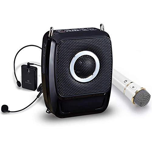 Amplificador de Voz, de Alta Potencia Altavoz portátil inalámbrico 25W micrófono Amplificador...