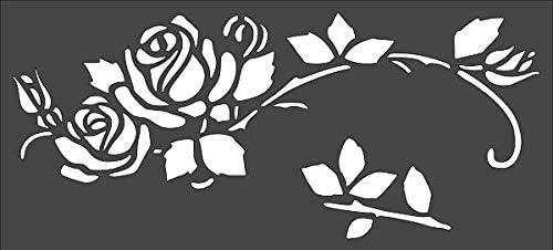 1- 5x11 inch Custom Cut Stencil Vine 5% OFF PB-84 Design a Great interest Arts Rose