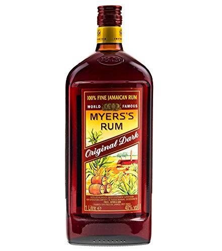 Rum: 3 x Myers's Rum Original Dark / 40% / 1 Liter