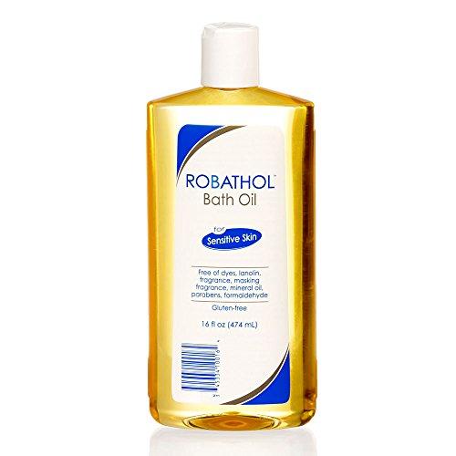 RoBathol Bath Oil   Fragrance, Gluten and Sulfate Free   For Sensitive Skin   16 Fl Oz