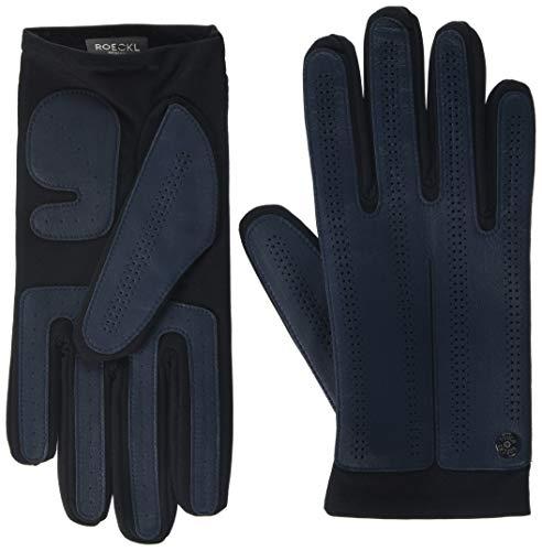 Roeckl Herren Sporty Casual Conductive Handschuhe, Blau (Indigo 570), 8.5