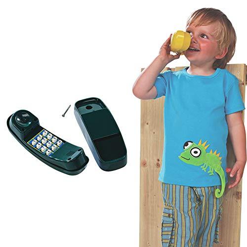 ROCK1ON Telefon Spielzeug Simuliertes Telefon beweglich für Kinder Spielturm Spielhaus Spielanlage Baumhaus Stelzenhaus Zubehör