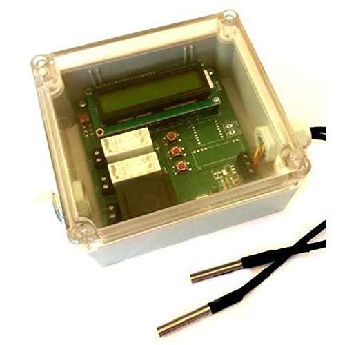 3-Wege und 4-Wege Ventilsteuerung Mischventil Steuerung für Mischer 230V Antriebsmotor Stellmotor witterungsgeführt