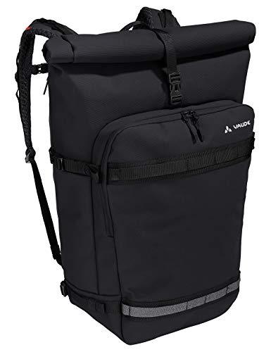 VAUDE ExCycling Pack, Multifunktionsrucksack fürs Fahrrad-Commuting Sporttasche, 50 cm, 40 Liter, Black