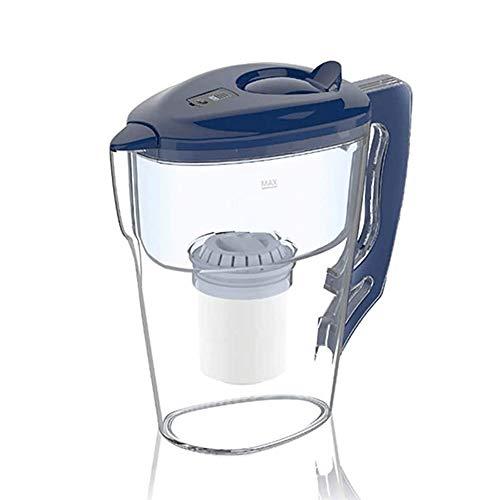 Adesign Filtro Ideal jarro de Agua Cartuchos de 3 litros de Agua purificador Elemento del Filtro purificador de Agua, Grifo del Filtro de Agua, efectivamente Eliminar Las sustancias nocivas, Azul