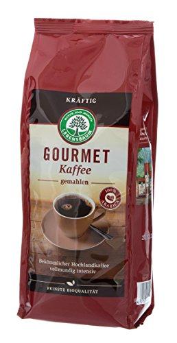 Lebensbaum Bio Gourmet Kaffee, kräftig, gemahlen (1 x 500 gr)