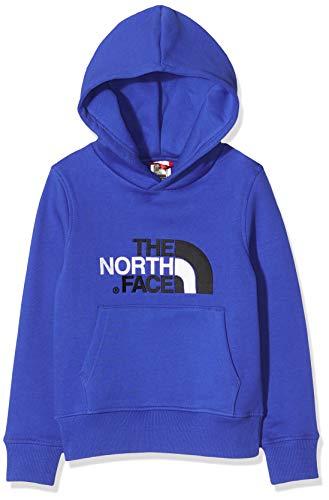 The North Face Y Drew Peak Po, Felpa con Cappuccio Bambino, Blu (TNF Blue/Black), XS