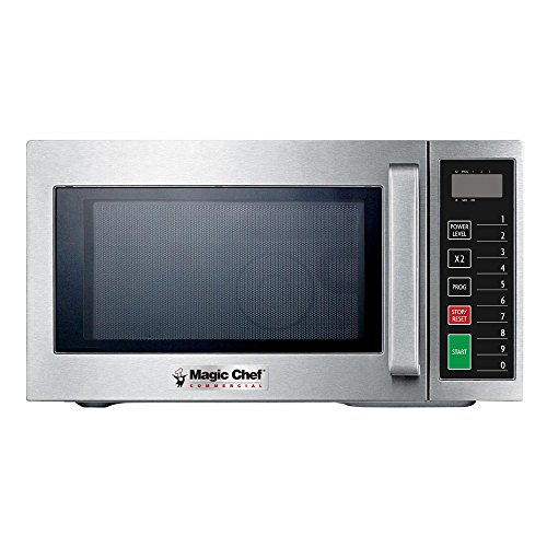 Magic Chef MCCM910ST 9 Cubic-ft Commercial Microwave Oven, Stainless Steel