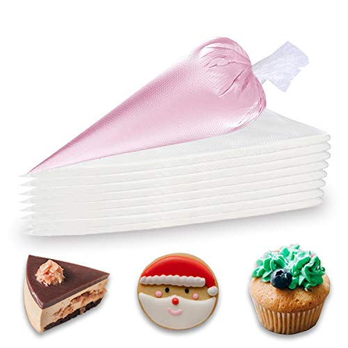 Piping Bags Disposable - Anti Burst Pastry Bags 12 Inch, 100 Pcs Thickened Non-slip Icing Bags for Cream Frosting Cookie, Cake Decorating Supplies