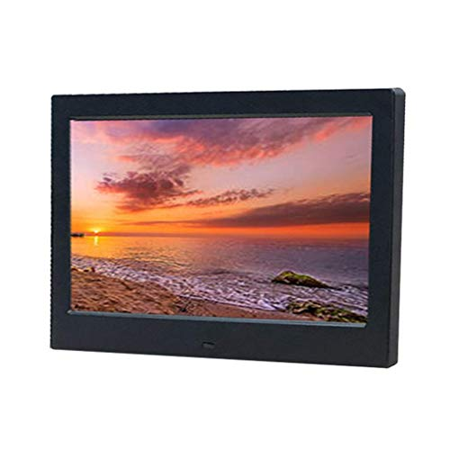 TUNBG Digitaal fotolijst Elektronisch fotoalbum multifunctioneel hd digitaal smart 10 inch smart photo album (Kleur : BLACK)