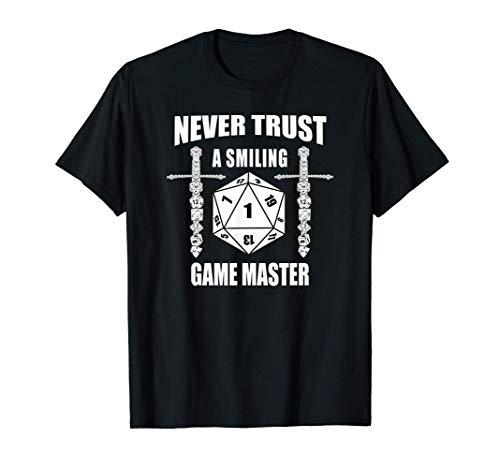 RPG Dice D20 Würfel W20 Brettspiel Rollenspiele Game Master T-Shirt