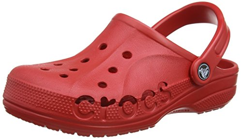 crocs Baya, Zuecos Unisex Adulto, Rojo (Pepper), 43/44 EU