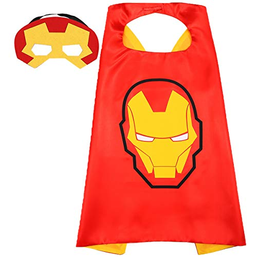 Aodai Superhero Capes For kids Halloween Costumes and Dress up for kids - Superhero Toys Costume Cape and Mask