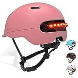 Smart4u Smart Bike Helmet with 3 Types of Alert Lights, Smart & Safe Bling Helmet, Comfortable, Lightweight, Breathable & Waterproof Cycling Helmet