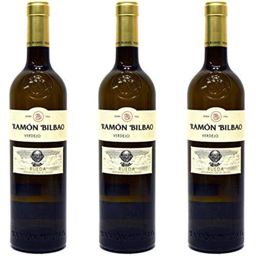 Ramón Bilbao Vino Blanco Verdejo - 3 botellas x 750ml - total: 2250 ml ✅
