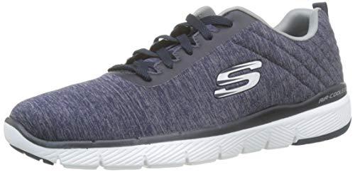 Skechers Men's Flex Advantage 3.0- Jection Trainers, Blue (Navy Nvy), 9 UK 43 EU