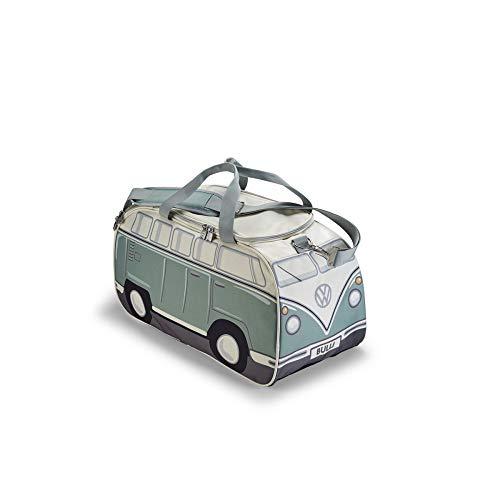 Volkswagen 1H1087300 Sporttasche T1 Design Tasche Reisetasche, grün