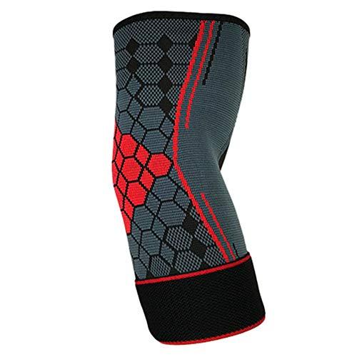 Matedepreso Atmungsaktive verstellbare Ellbogenschützer Armschutz Sportschutzausrüstung, Sportfitness-Trainingsschutz, für Sport-Rollschuhlaufen, Reiten, Basketball usw.