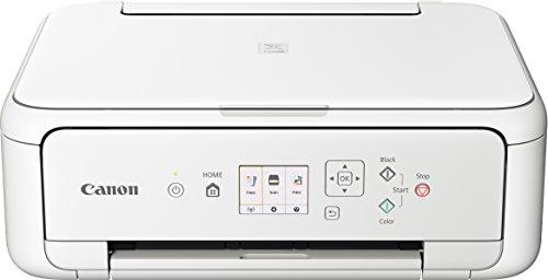 Canon PIXMA TS5151 Drucker  Farbtintenstrahl Multifunktionsgerät DIN A4 (Scanner, Kopierer, Farbdisplay, 4.800 x 1.200 dpi, USB, WLAN, Duplexdruck, 2 Papierzuführungen) weiß