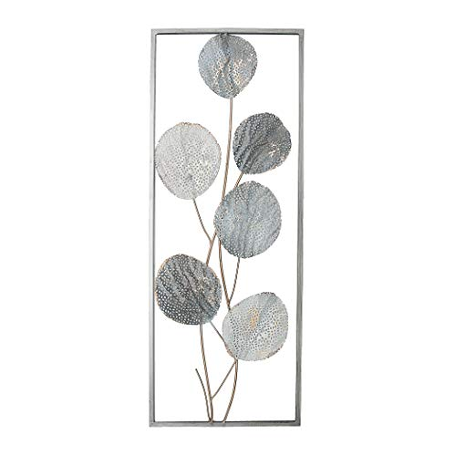 NTK-Collection Wanddeko Silhouette 1 Wandbild Metallbild Wanddeko aus Metall 3D-Optik