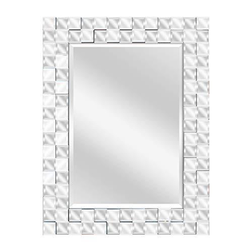 Yosemite Home Decor Bane Mirror, Clear