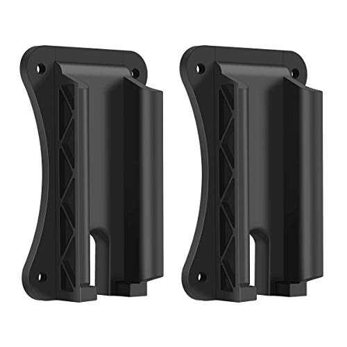 OYSIN 2PCS Magnetic Gun Mount & Holder, Quickdraw Fast Loaded Holster, Concealed Use for Bumpy and Tough Terrain, Car, Truck, Wall, Vehicle,Cabinet (2PCS)