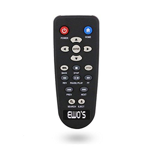 ewo' S Media Player Remote para WD Western Digital TV Live, 1Hub De directa, TV Media unidad