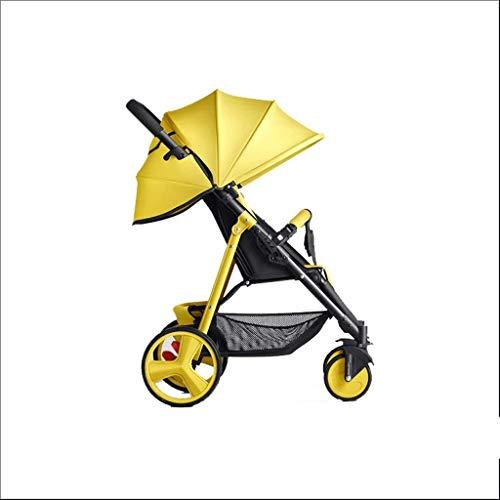 Kiter Cochecito de bebé Cochecito de bebé puede sentarse reclinable simple mini...