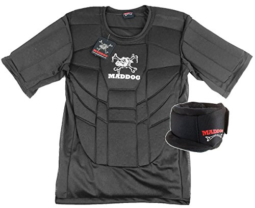 Maddog Pro Padded Neck & Chest Protector Combo Pack - Small/Medium