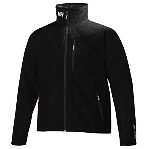Helly Hansen Herren Jacke Crew Jacket, Black, L