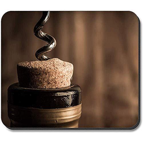 Muispad - Een wijnfles openen