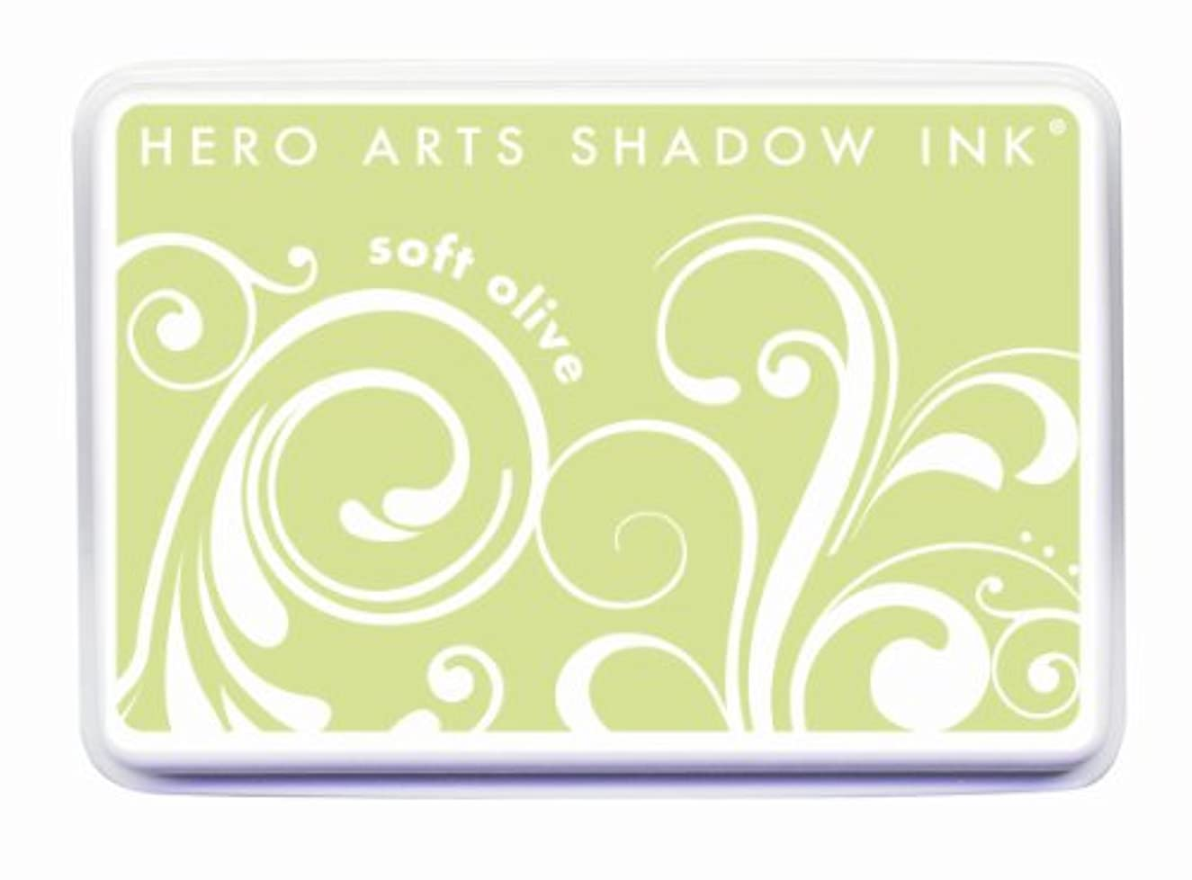 Hero Arts Rubber Stamps Shadow Ink Stamp Pad, Soft Olive