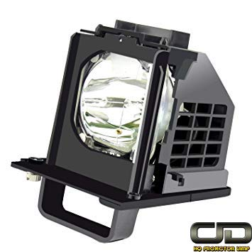 CJD Rear Projection TV Replacement Lamp 915B441001 with Housing for Mitsubishi WD-60638 WD-60738 WD-60C10 WD-65638 WD-65C10 WD-73638 WD-73738 WD-73C10 WD-82838