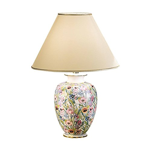 Kolarz tafellamp Giardino-Panse keramiek 24 karaat goud handwerk, Made in Italy, lampenkap uit