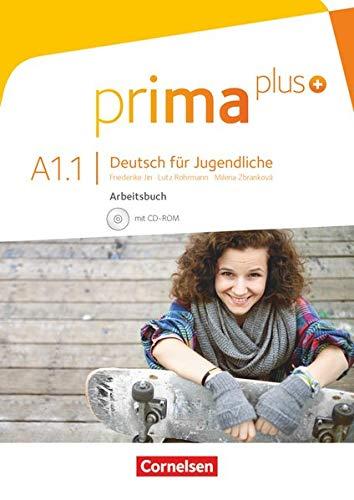 Prima Plus A1.1 Ejercicios (Incluye CD): Arbeitsbuch A1.1 mit CD-Rom