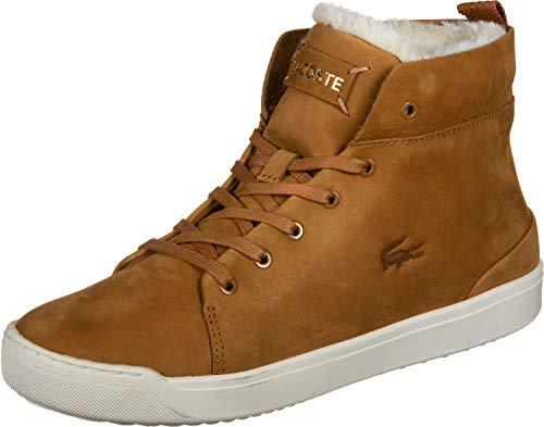 Lacoste 38CFA0004 Damen Sneakers Braun, EU 38