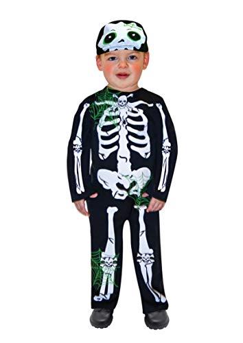 amscan- Déguisement-Bébé-Squelette, 996231, 2-3 Ans