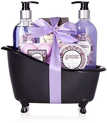 BRUBAKER Bade-Geschenkset Lavendel Vanille