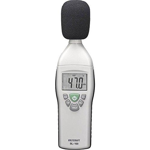 VOLTCRAFT Schallpegel-Messgerät SL-100 30-130 dB 31.5 Hz - 8 kHz