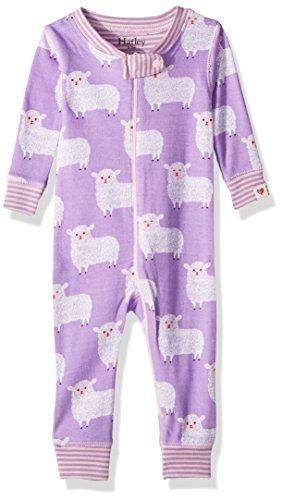 Hatley Mini Coveralls Pyjama, Compter Les Moutons, 6 Mois Bébé garçon