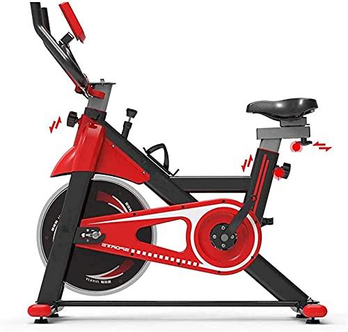 FHDFH Equipo Gimnasio en casa [2021 Promoción] Bicicleta de ejercicio, bicicleta estacionaria de ciclismo interior y entrenador de Ab