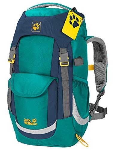 Jack Wolfskin Unisex Jugend Kids Explorer 20 Wanderrucksack für Kinder, Green Ocean, ONE Size