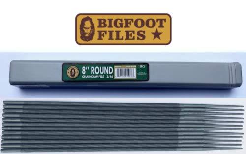 Bigfoot Kettensägenfeile, rund, 20,3 cm