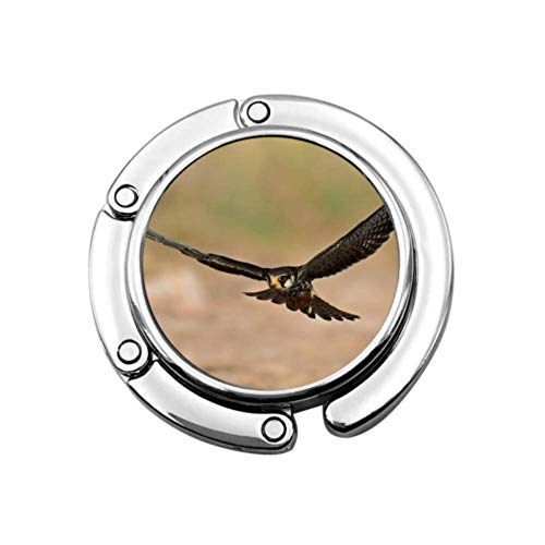 Pájaros Amur Falcon Breeds In Sibera Cute Purse Hanger Hand Bag Hanging For Table Plegable Section Storage Purse Hanger Table