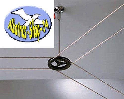 Umlenker Y Kunststoff Schwarz Zubehör für Lampe Leuchte Strahler Seilsystem 12V