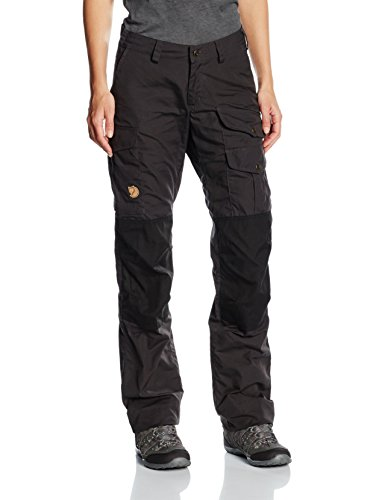 FJÄLLRÄVEN Damen Barents Pro Hose, Dark Grey, 48