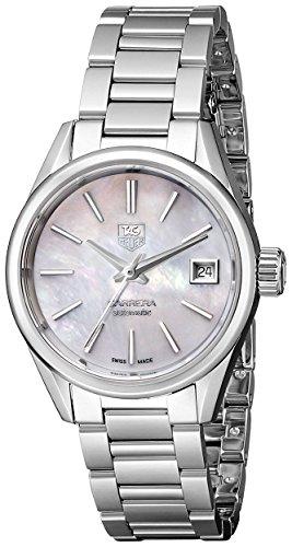 TAG Heuer Damen-Armbanduhr Analog Automatik Edelstahl WAR2411.BA0770