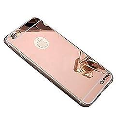 Protective Phone Case Reflective Mirror