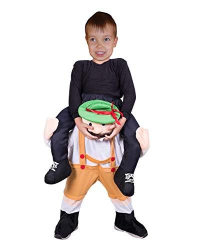 Seruna Carry-me Bayer-Kostüm F135 Gr. 122-128 Trag Mich Huckepack Kinder-Kostüme klein-e Mädchen u. Jung-en Oktoberfest Fasching-s Karneval-s Geburtstags-Geschenk